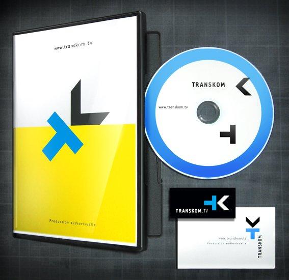 Jaquette DVD Transkom + papeterie